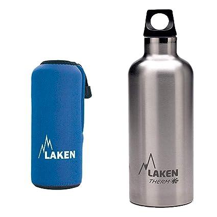 LAKEN - Pack Termo Laken Futura en Acero Inoxidable con ...