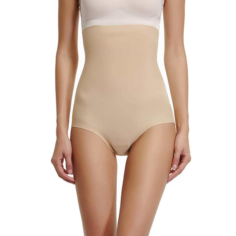 Joyshaper Tummy Control Knickers Women High Waist Seamless Butt Lifter Slimming Briefs Pants Panty Underwear Thong Waist Cincher Girdle Trimmer Shapewear Body Shaper Lingerie