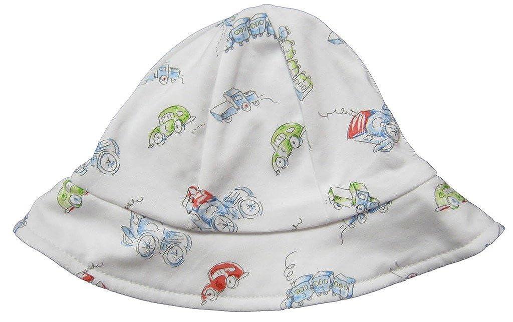Amazon.com  Kissy Kissy Baby-Boys Infant Vintage Vehicles Print Sunhat   Clothing f091797fcef