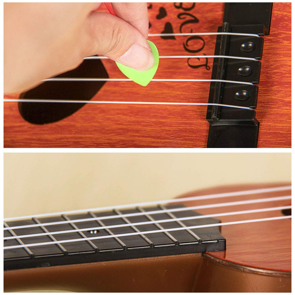 Amazon.com: Gbell Kids Classical Ukulele Cute Guitar Music Toys - Non-Toxic ABS Sturdy Mini Musical Instrument Preschool Educational Toys Gifts for Toddlers ...