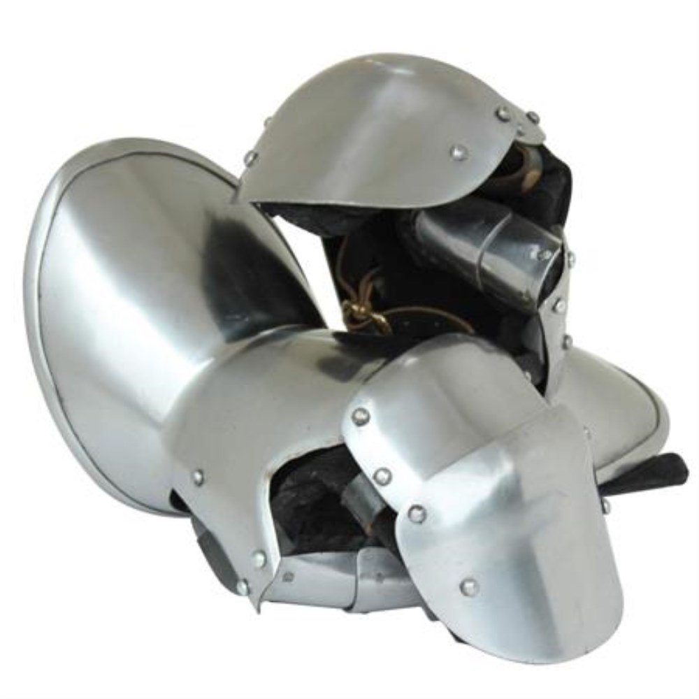 Top Quality Reproduction Milanese Steel Knight's Gauntlets