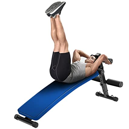 image office workout equipment homgrace sit up bench decline crunch abdominal board exercise fitness workout for home office gym amazoncom