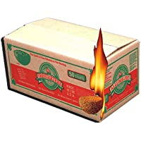 Lightning Nuggets N50VBOX Firestarters Box of Fire-Starting Nuggets, 50 Count,Tan