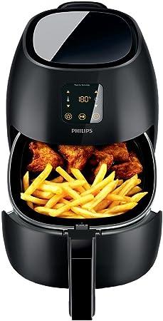 Philips HD924090 Airfryer XL (2100 Watt, Heißluftfritteuse, ohne Öl, für 3 4 Personen) schwarz
