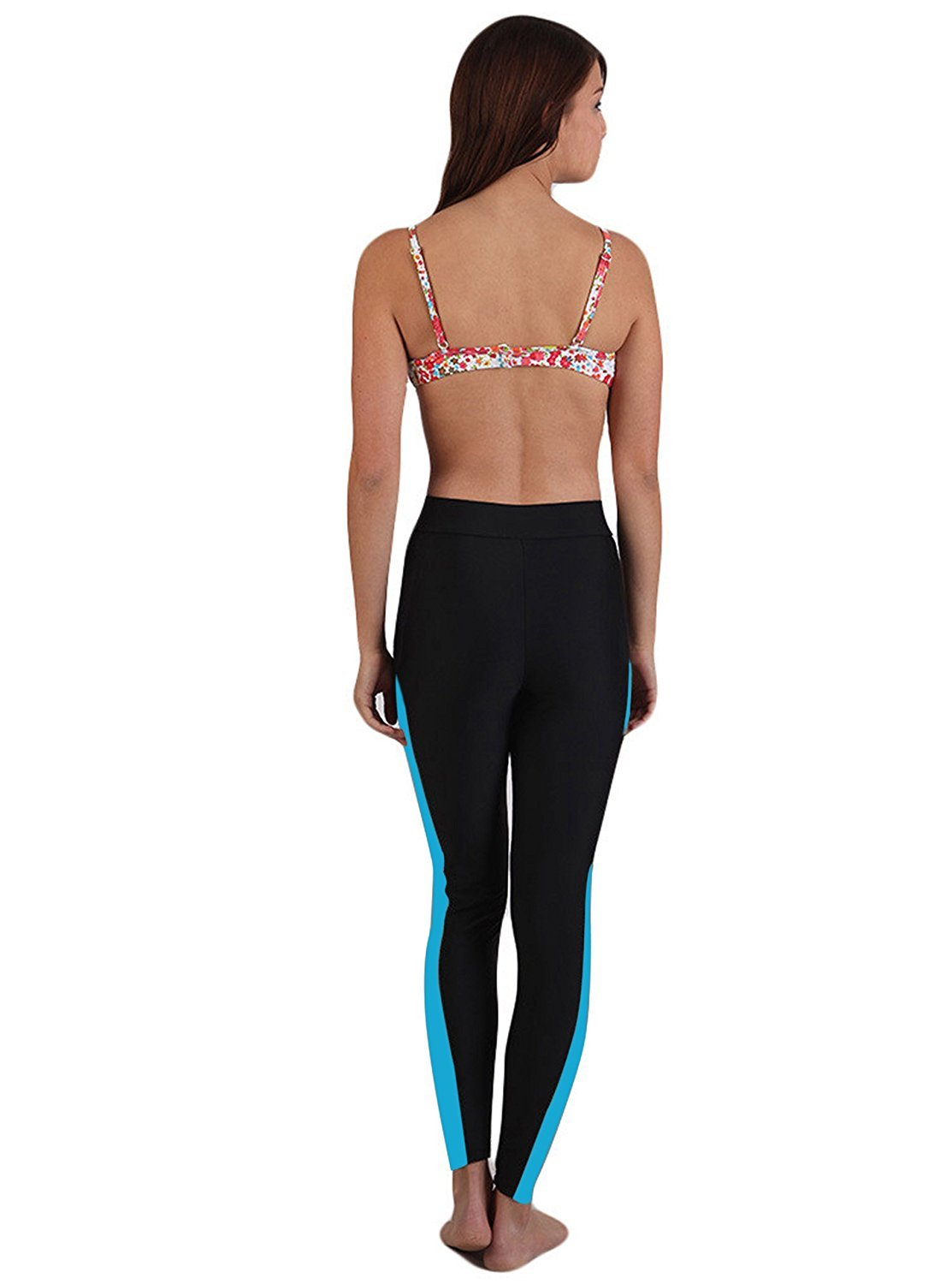 196405d8b9e95 SWISWELL Womens Surfing Leggings Swimming Diving Snorkeling Long Pants  Capri Tights Bottom Elastic Swimwear Sun Protection: Amazon.co.uk: Sports &  Outdoors