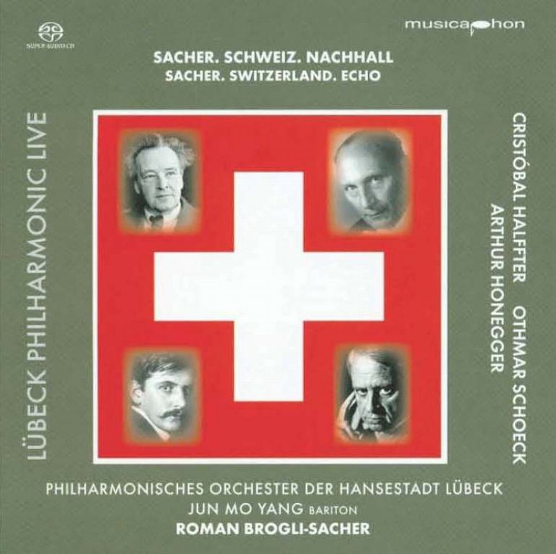 SACHER / YANG / ORCH OF LUBECK