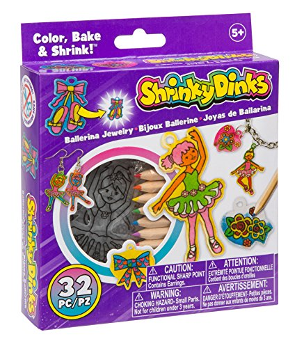 Shrinky Dinks Ballerina Jewelry Activity Set