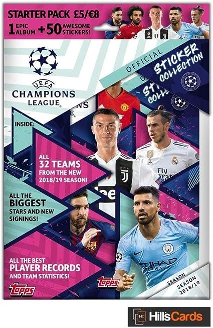 TOPPS 1 Album Champions League 18//19 2018 2019 Sticker