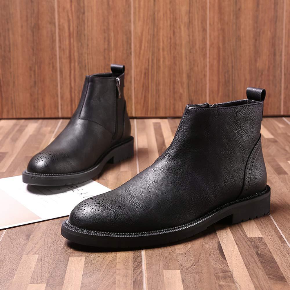 Männer Stiefelies Winter Herrenschuhe Koreanische Version Version Version Von Martin Stiefel Mode Werkzeuge 87386e