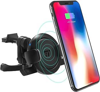TaoTronics Qi Wireless Car Charger Vent Phone Holder