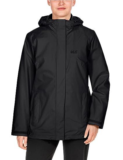 Jack Wolfskin Women's Iceland Jacket, X-Small, Black