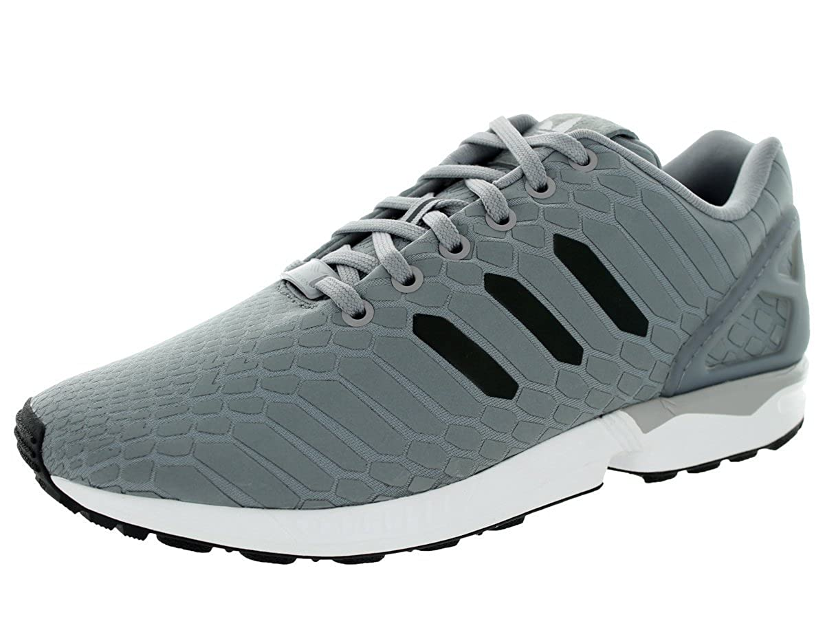 online store 6fb57 d1394 Amazon.com | adidas Mens ZX Flux Black/Iridescent Synthetic ...