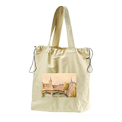 7cfcb1dfae86 durable modeling The Dry Bar In Nuremberg (Durer) Canvas Drawstring ...