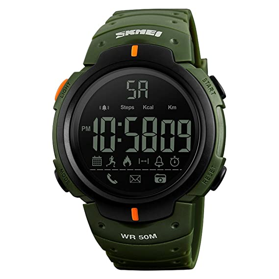 SKMEI Sports Smart Watches BT 4.0 Smartwatch IP67 Waterproof 5ATM Call APP Reminder Pedometer Tracker Remote Camera for IOS Android