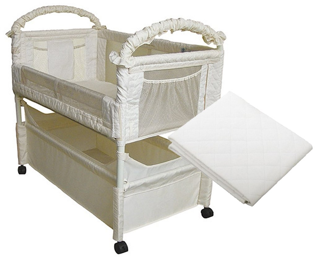 Amazon.com : Arm's Reach Clear-Vue Co-Sleeper with Mattress Protector : Baby