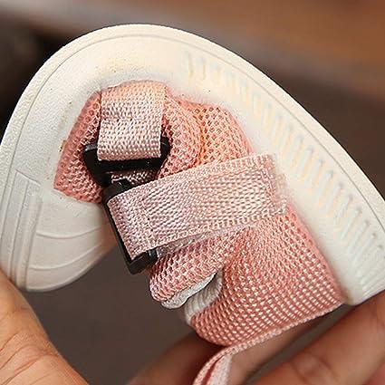 21# Inseam Length*13 cm elegantstunning Enfant b/éb/é gar/çon Fille d/écontract/é Chaussures de Sport /à la Mode des Chaussures Rose