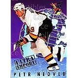 Petr Nedved Hockey Card 1992-93 Ultra Import #17 Petr Nedved