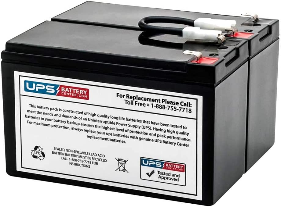 New Battery Pack for APC Smart UPS 450 SU450NET Compatible Replacement by UPSBatteryCenter