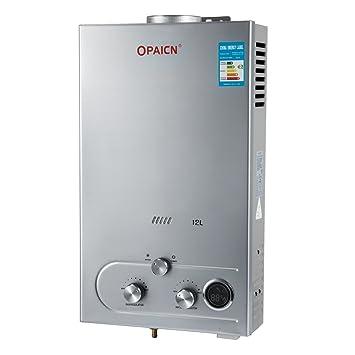 chaneau calentador de agua sin tanque lpg – Calentador gas butano calentador de agua instantánea con