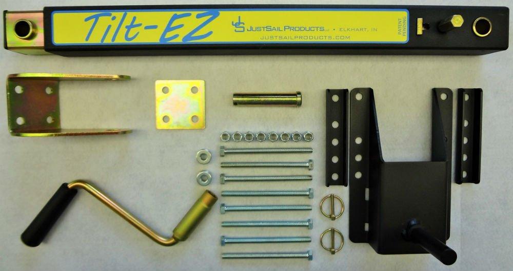 TiltEZ JSP120-TLZ Tilting System For Single Pole Tongue Snowmobile And ATV Trailers by TiltEZ