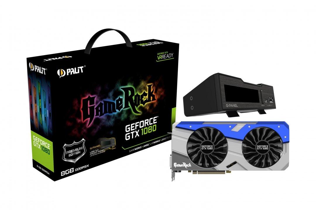 Palit NEB1080H15P2GP - Placa Grafica NVIDIA GeForce GTX 1080 ...