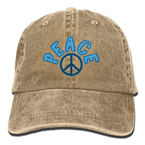 World Peace Sign Unisex Cowboy Hat Personalized For Man And (Peace World Peace Sign)