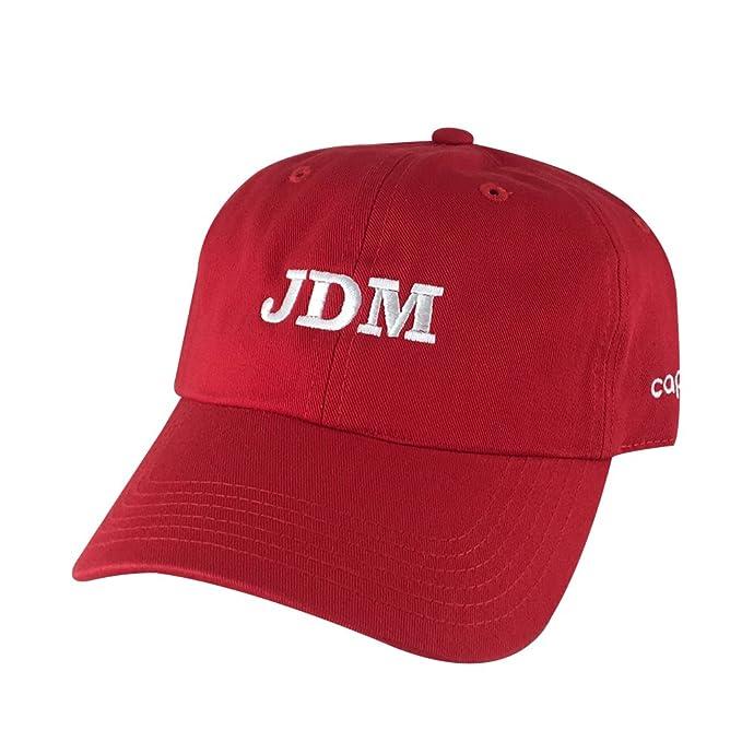 Performance JDM Team Adjustable Unstructured Hat Dad Cap Honda ... 324aa68649a
