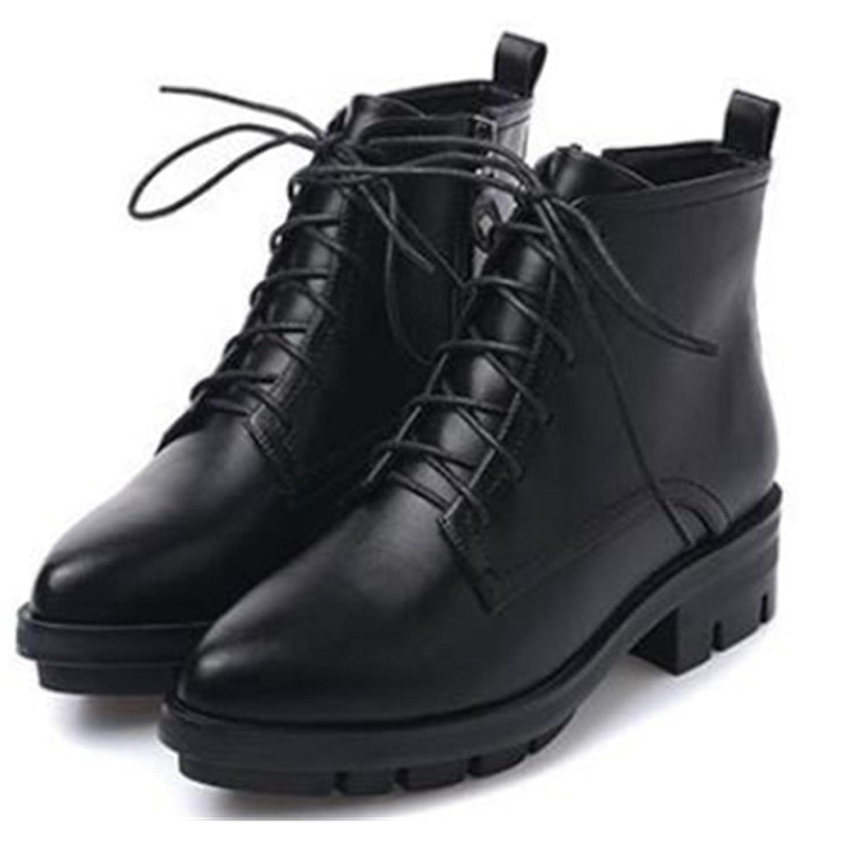 ba9a224de1ae lovely Aksautoparts Autumn winter short women boots retro casual shoes  Thick heels Martin boots