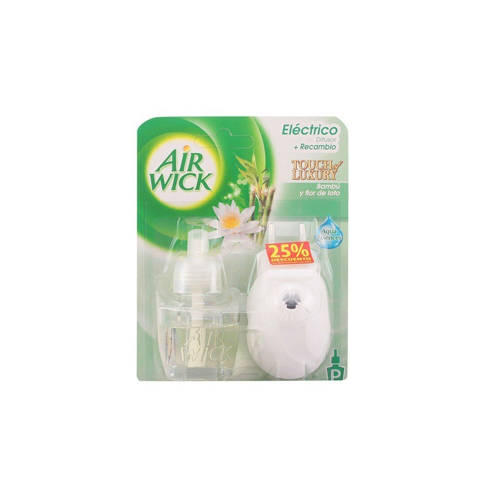 Air Wick Touch of Luxury Electric Air Freshener, Lotus Flower AIR-WICK 8410104392598