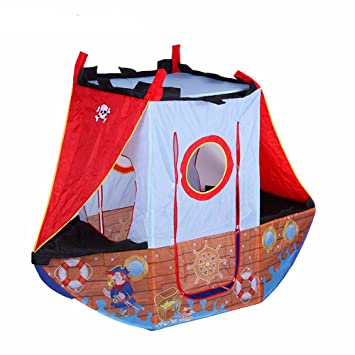 Boyu0027s Pirate Ship Play Indoors or Outdoors Children Play Tent for Kids (Washable and Foldable  sc 1 st  Amazon.com & Amazon.com: Boyu0027s Pirate Ship Play Indoors or Outdoors Children ...
