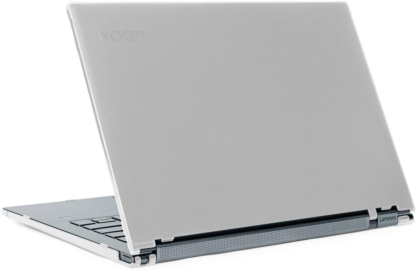 "mCover Hard Shell Case for 13.9"" Lenovo Yoga C930 Series (NOT Fitting Older Yoga 900/910 / 920) multimode Laptop Computer (Yoga-C930 Clear)"