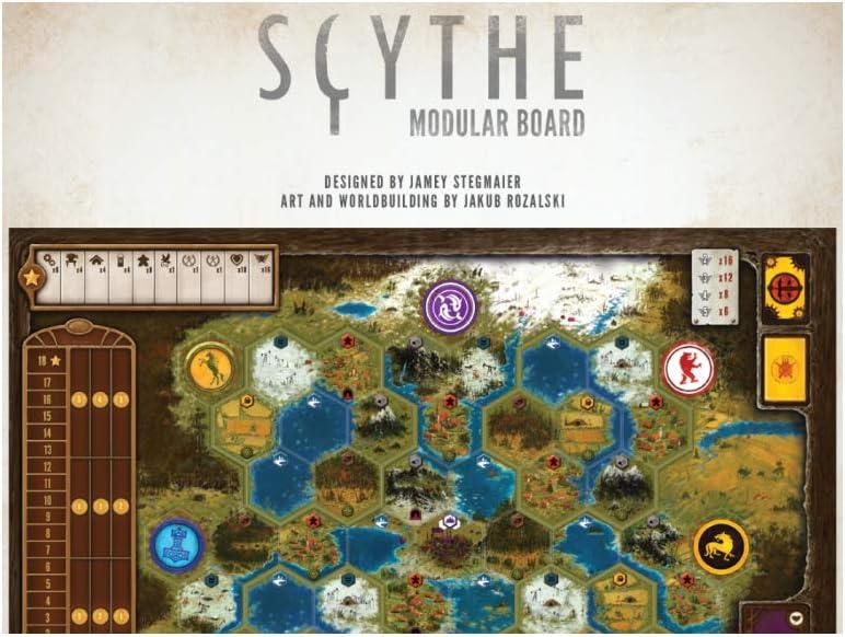 Stonemaier Games STM638 Scythe - Tabla Modular: Amazon.es ...
