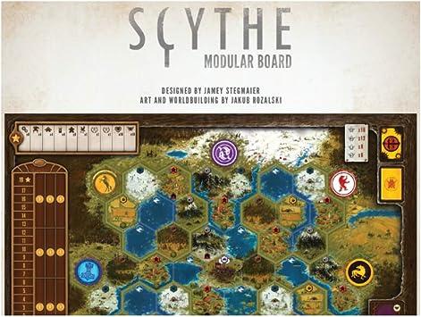 Stonemaier Games STM638 Scythe - Tabla modular, varios colores , color/modelo surtido: Amazon.es: Juguetes y juegos