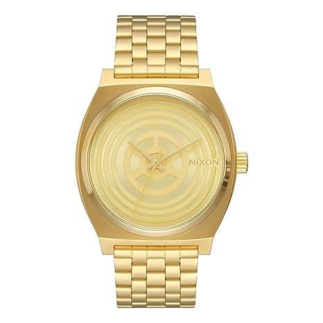 Nixon Hombre Reloj de pulsera analógico cuarzo acero inoxidable a045sw2378 – 00