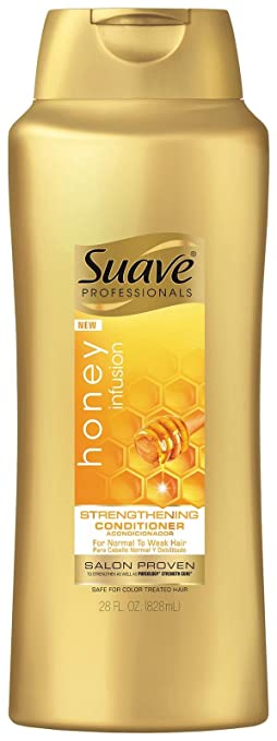 Suave Professionals Strengthening Shampoo Honey Infusion, 28 Ounce