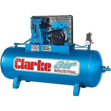 Clarke xe15/150 Industrial compresor de aire Wis (400 V) - 2092252: Amazon.es: Jardín
