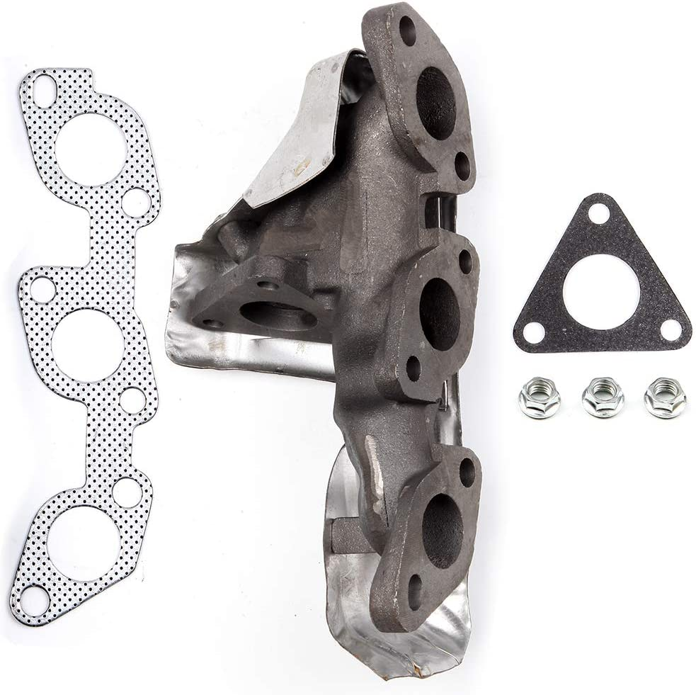 QUALINSIST Stainless Steel Exhaust Manifold Kit 674-598 Fit for 1999-2004 Nissan 3.3L Exhaust Kit,No Leak /& High Performance