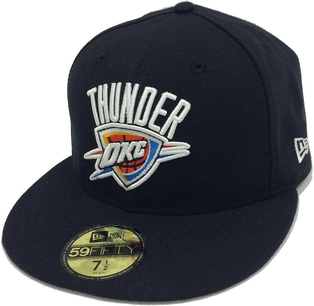 New Era 59Fifty Playoffs Oklahoma City Thunder Navy Fitted Cap