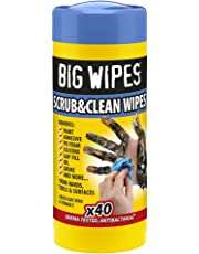 Big Wipes BGW2029 Toallitas Antibacterias Industriales, 40 Unidades