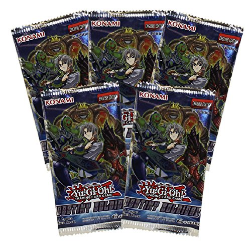 Yu-Gi-Oh Cards - Destiny Soldiers - Booster Packs (5 Pack Lot)