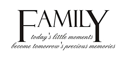 Amazoncom Newclew Family Todays Little Moments Becomes