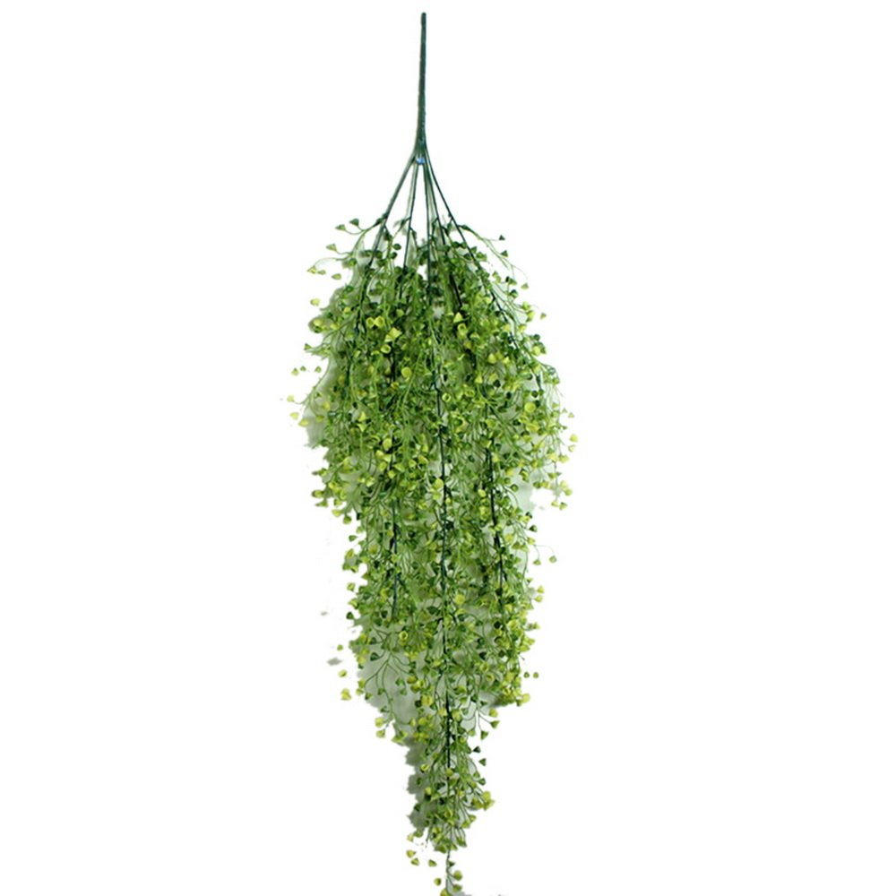 faux hanging plant