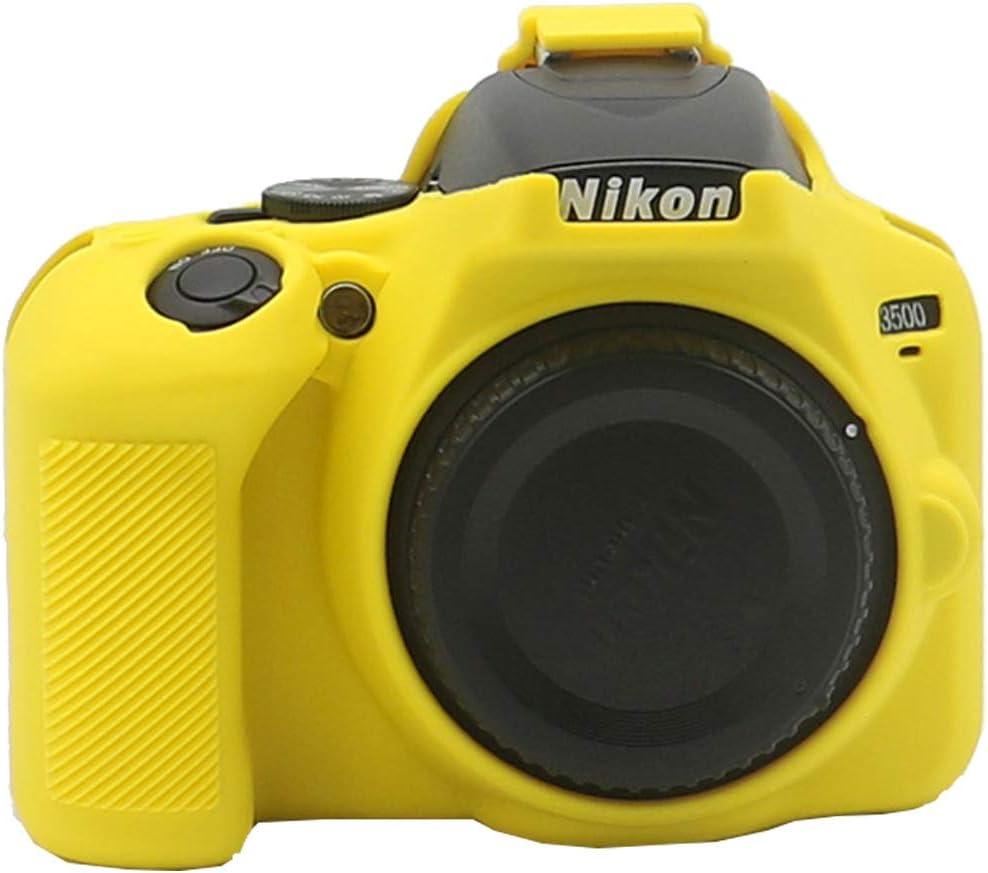 TUYUNG Nikon D3500 - Funda de silicona para cámara Nikon D3500 ...