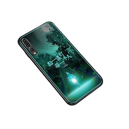 Amazon.com: Luminous - Carcasa de cristal templado para ...