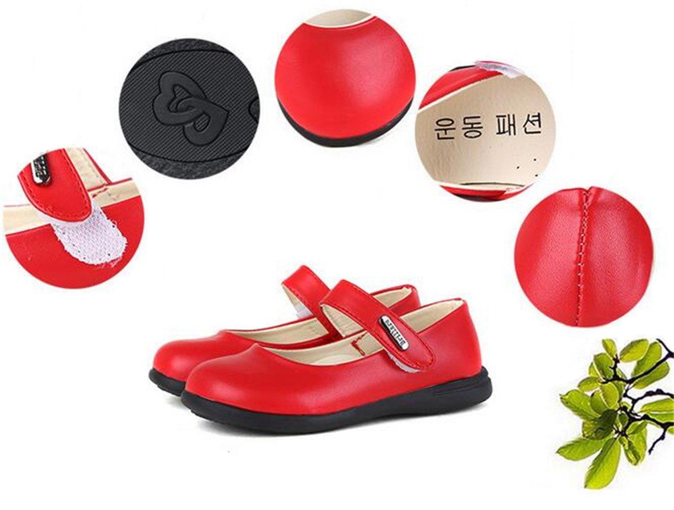 DADAWEN Girls Mary Jane Ballet Flats Dance Shoe /(Little Kid//Big Kid/) 240065HM