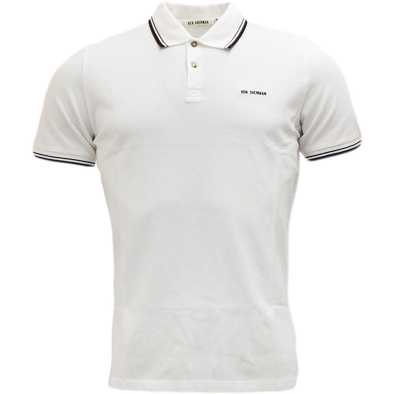 Ben Sherman Herren Poloshirt Polo-Shirt, Kragen, Bündchen Original Uni, S,  M, L, XL, XXL: Amazon.de: Bekleidung