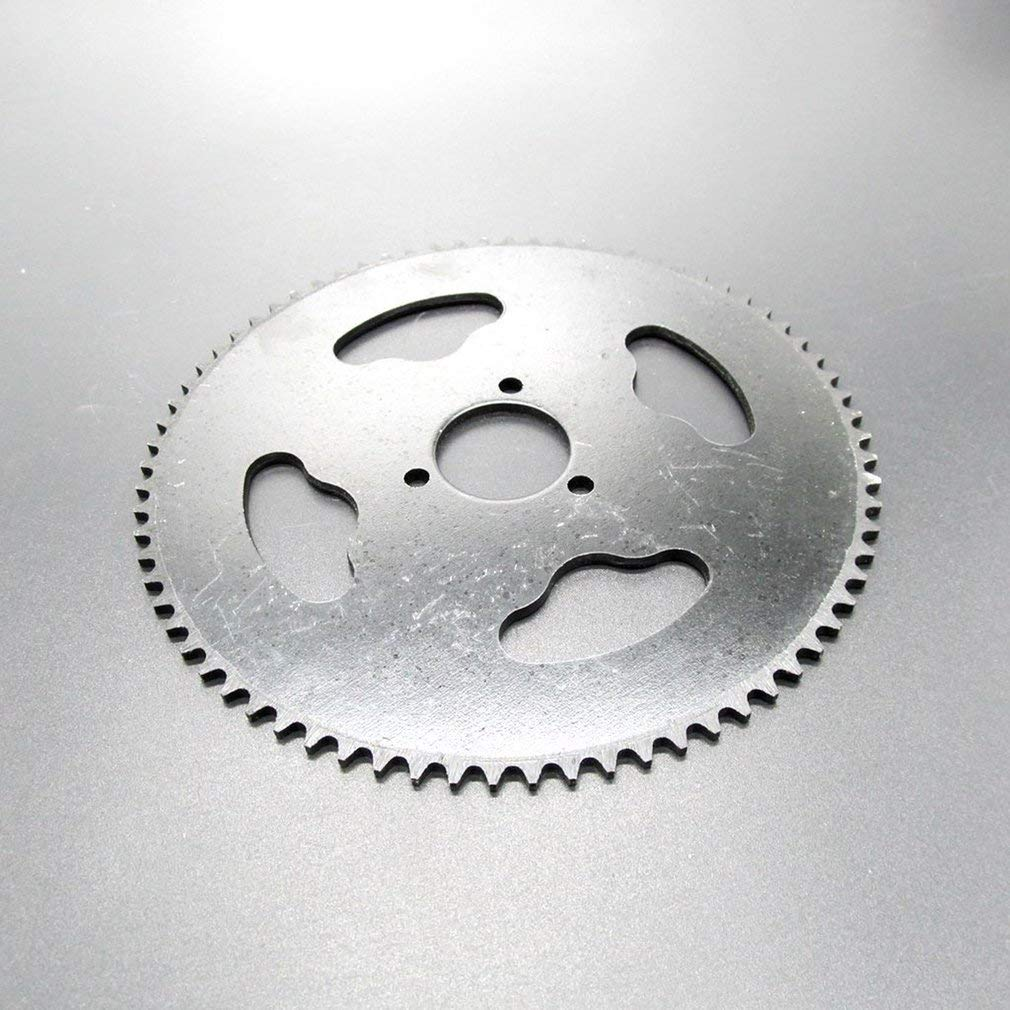 Hehilark Durable T8F-74 74 Tooth Motorcycle Toothed Sprocket for Small Four Wheeler