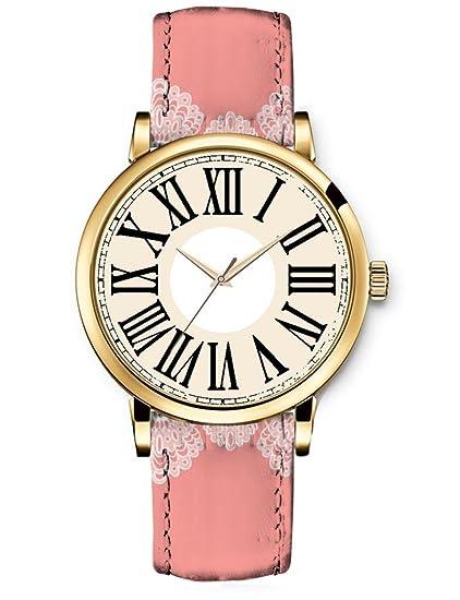 El mundo de la moda de los relojes de cuarzo de las mujeres iCreat tiempo de ...