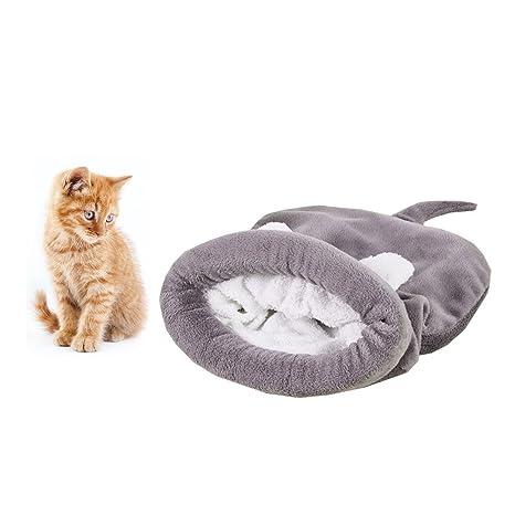 Sookg - Saco de Dormir Suave y cálido para Gatos, para 4 Estaciones, para