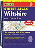 Philip's Street Atlas Wiltshire and Swindon: Spiral Edition